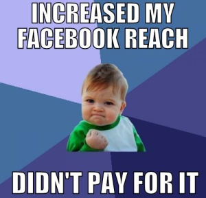 improving facebook reach