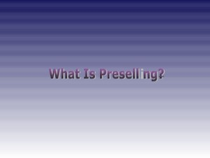 what-is-preselling-1-638
